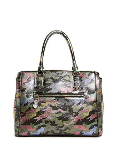 H x Camouflage Camouflage Sacs Cmo Cmo L 5 cm Multicolore W main Multicolore portés femme 32x24x14 Badlands Guess nYqapO7O