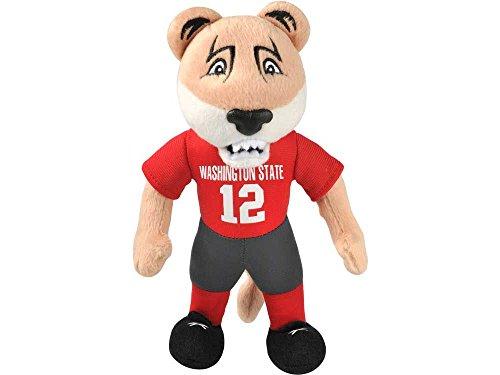 College Mascots (NCAA Washington State Cougars 8 Plush Mascot, One Size, Red)