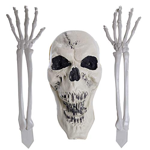 Ghouls Night Out Halloween Party - Halloween Haunters Scary Skeleton Bone Arms,