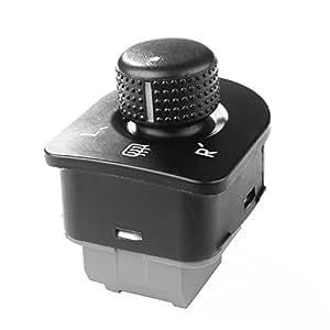 XCSOURCE Side Mirror Switch Control Knob with Heat for Volkswagen VW Golf GTI/R32, Passat B5/B5.5, Beetle, Jetta MK4 MA632