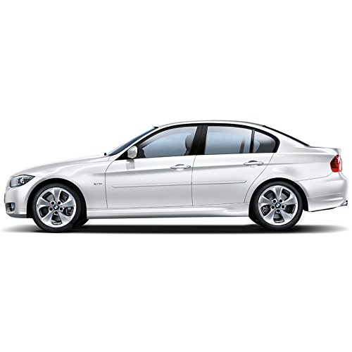 FE-BMW3 Finished End Body Side Molding for BMW 3 Series - TI SILVR (A34)