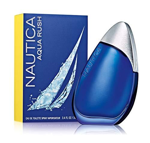 Nautica Aqua Rush Eau De Toilette Spray for Men, 3.4 ()