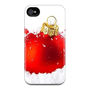 Robearke Case Cover For Iphone 4/4s - Retailer Packaging Christmas And Happy New Year 2012 02 Protective Case