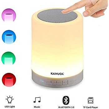 Kainuoa LED Touch Bedside Lamp, with Smart Touch Control Outdoor ...