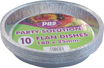 Party & Paper Solutions 10 Discos de Papel de Lija Redondos – 180 mm x 25