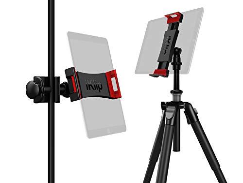 IK Multimedia iKlip 3 Deluxe iPad tablet mount for music stands & camera tripods IP-IKLIP-3DLX-IN