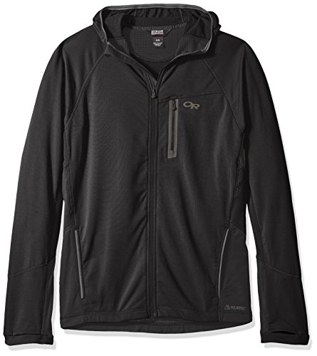 Outdoor Research Men's Transition Hoody, Black, X-Large