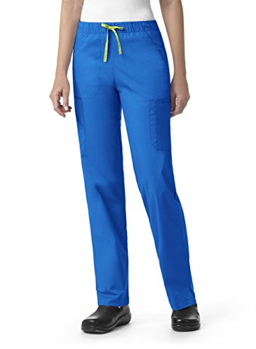 Signature Collection By Vera Bradley Women's Florence Drawstring Cargo Scrub Pant Royal from Vera Bradley Healthcare Apparel
