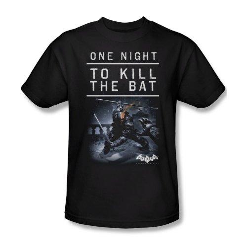 Warner Bros. Men's Batman Arkham Origins One Night T-Shirt Small Black