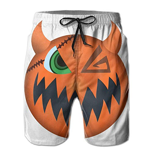 Sora Halloween Town Vampire Form Mask Men's Beach Shorts -