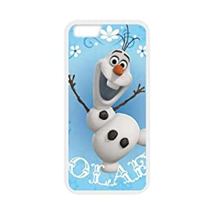 iPhone 6 case - [Frozen Snowman Olaf Series] case for Apple iPhone 6 case PC and rubber TPU cover case,Silicone Case Cover for Apple iPhone 6 (4.7 wangjiang maoyi by lolosakes