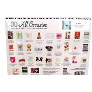 Amazon 30 all occasion handmade greeting card assortment 30 all occasion handmade greeting card assortment m4hsunfo