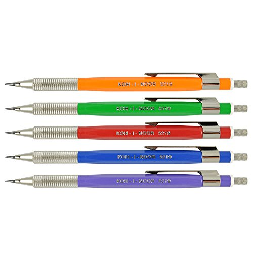 Koh-i-noor 5 Lead Holders with Sharpener 5219.