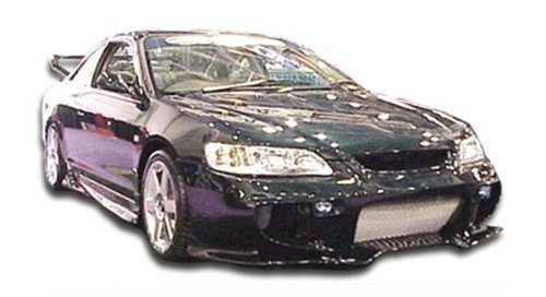 R33 Body 2dr - 1998-2002 Honda Accord 2DR Duraflex Vader Body Kit - 4 Piece - Includes Vader Front Bumper Cover (101974) R33 Rear Bumper Cover (101970) R33 Side Skirts Rocker Panels (101971)