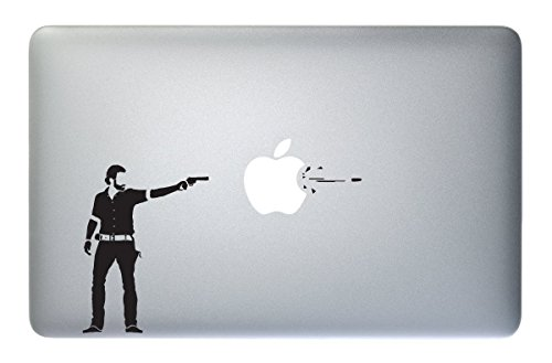 The Walking Dead Rick - Sticker Decal Apple Macbook Pro Air Laptop
