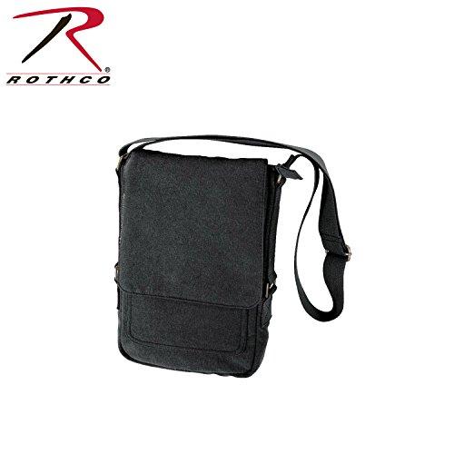 Rothco Vintage Canvas iPad Bag (One Size/Black)