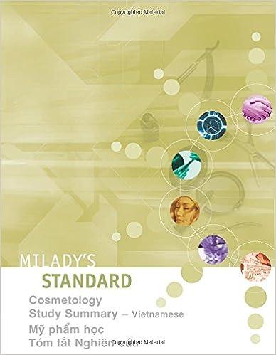 Miladys standard cosmetology study summary vietnamese vietnamese miladys standard cosmetology study summary vietnamese vietnamese edition vietnamese 1st edition fandeluxe Choice Image