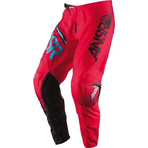 Answer Syncron Youth Pants, Distinct Name: Red/Teal, Gender: Boys, Primary Color: Red, Size: 22, Size Segment: (Red Youth Syncron Pants)