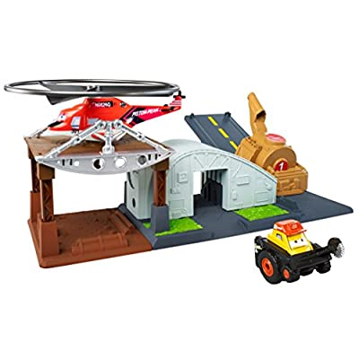 Disney Planes: Fire & Rescue Riplash Flyers Rip N Rescue Headquarters Playset: Toys & Games