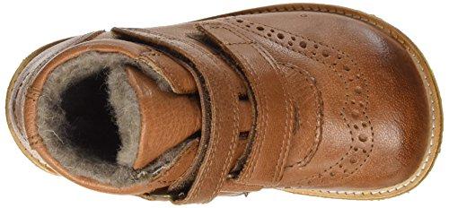 Bisgaard Unisex-Kinder Klettschuhe Stiefel Braun (503 Cognac)