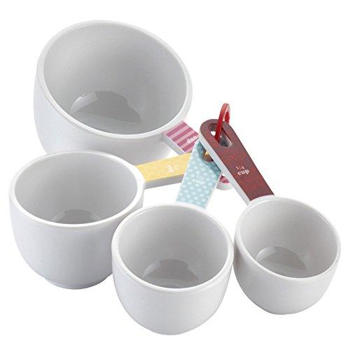 Cake Boss 4-Piece Melamine Classic Measuring Cup Set