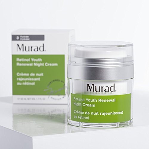 Murad Retinol Youth Renewal Night Cream - (1.7 fl oz), Breakthrough Anti Aging Night Cream with Retinol and Swertia Flower to Visibly Minimize Wrinkles and Restore Your Skin's Smooth Texture by Murad (Image #2)