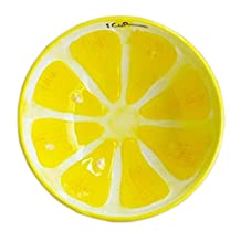 Creative Ceramic Fruit Tableware Cute Home Decorative Bowl (Lemon)