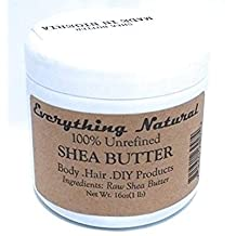 Unrefined Organic 100% Grade A Shea Butter - 1 lb (16 oz)- African, Raw, Pure - Use Alone or in DIY Body Butters, Lotions, Soap, Eczema & Stretch Marks Products, Lotion Bars, Lip Balms and More!