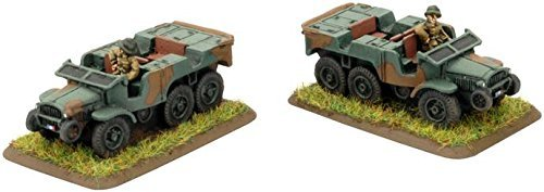 Flames of War: Laffly W15T Truck by Battlefront Miniatures
