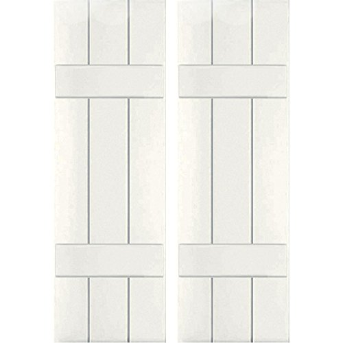 Ekena Millwork CWB12X075WHC Exterior Three Board