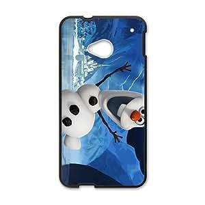 Frozen Snow Men Black HTC M7 case