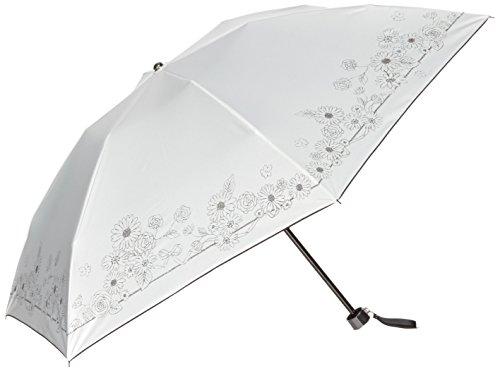 (문 배트) MOONBAT 랑방 온 블루 접이식 미니산(차열&차광) 파라솔&우산 양산 우산 겸용 꽃 프린트
