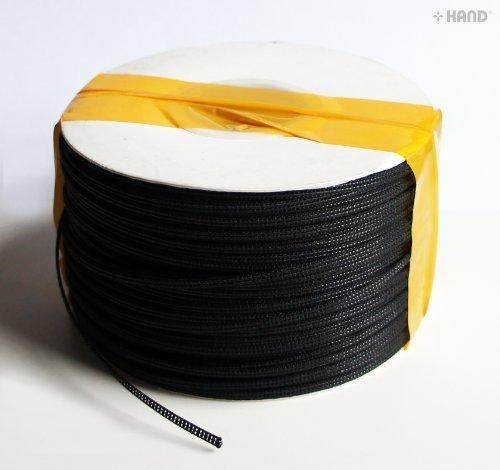 STECCHE PER ABITI CUCIBILI - Un Rotolo sottile e rigido colore nero per Cucire e creare i tuoi abiti , appx 180 metri - Non perdere l'offerta! (3mm) Well Made Tools