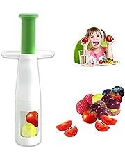 Tomato Slicer Grape Cutter Grape Slicer For Baby food Cherry Seedless Grapes Vegetable Fruit Tool (1PCS)