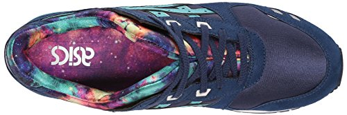 Asics Gel-lyte Iii Cosmic Pack Rétro Chaussures De Course Navy Latigo Bay H5q4n 5089