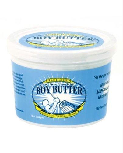 Boy Butter H2O à base - 16 oz Tub - EDO-8257-36