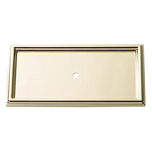 Atlas Homewares 379-PB Campaign Backplate, Polished - Backplate Pb
