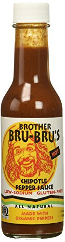 Brother Bru Bru's African Hot Pepper Sauce, 5 oz
