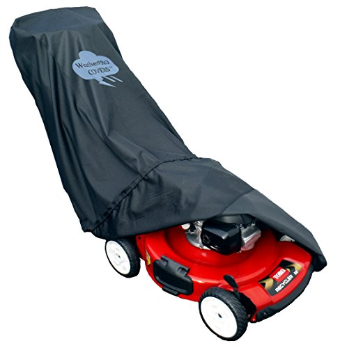 Lawn Mower Cover - Waterproof, Premium Heavy Duty - Manufacturer Guaranteed - Weather and UV Protected Covering
