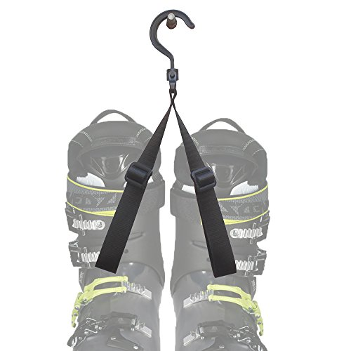Ski Boot Carrier One Ski Boot Hanger One Ski Boot Roller Skate Boot Rack One Ski Boot Storage Hanger - No Ski Boots!