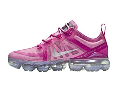 Nike Women's Air Vapormax 2019 Active Fuchsia/Laser Fuchsia/Fuchsia/Psychic Pink Mesh Cross-Trainers Shoes 8 M US