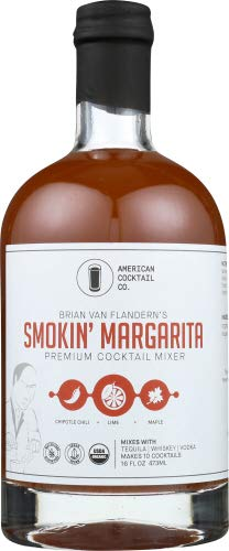 American Cocktail Company Mixer Smokin Margarita 16.0 FO (Pack of 12)
