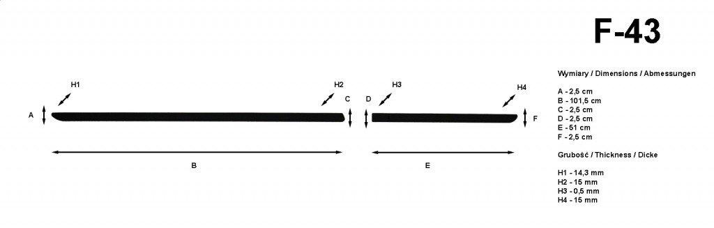Schutzprofi SP-F43 SK Citigo 5t 2012 Schutzleisten