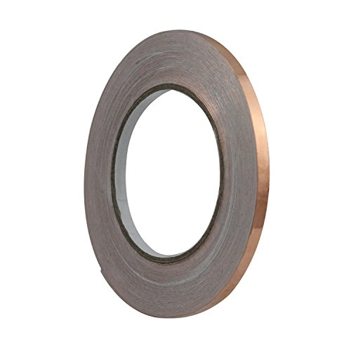 Pretmanns Copper Foil Tape with Conductive Adhesive 38.26 Yards x 1/4