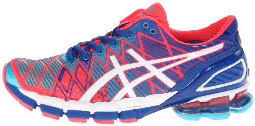 ASICS Women's Gel-Kinsei 5 Running Shoe,Hot Punch/White/Royal,5 M ...