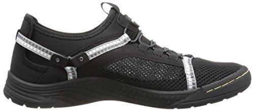 Jsport By Jambu Womens Tahoe Encore Walking Shoe Nero / Bianco
