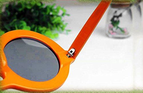 coreano redondo grande de de protecciónn gafas onda sol gran amp;Gafas Marco LYM oscilación retro de de de de gafas de coreano amp; sol de Marco 4 de mujer moda Visor punto 4 Color punto xnYBFwxqX
