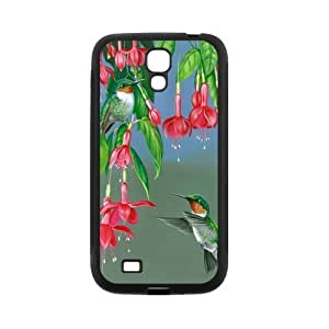 Hummingbird Galaxy S4 Case- Compatible With Samsung Galaxy S4 SIV i9500- TPU Rubber Case Shell- S4 Cover