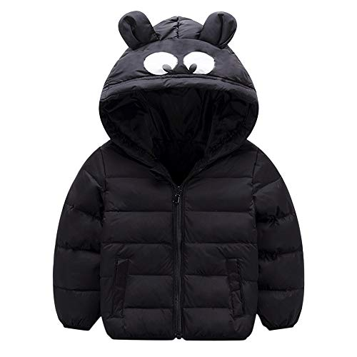 Price comparison product image PLENTOP 2019 Baby Boy Clothes 12 18 Months Suit,  Chlidren Boys Girl Winter Coats Jacket Kids ZipThick Ears Cartoon Hoodie Clothes