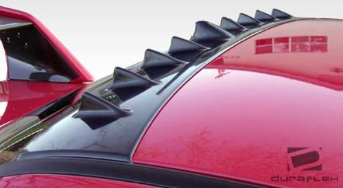 Duraflex ED-ACR-486 V-Spec Roof Wing Spoiler - 1 Piece Body Kit - Compatible For Mazda RX8 ()
